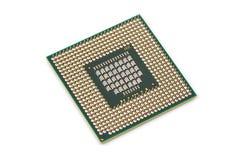 CPU dell'atomo dell'unità di elaborazione del computer immagini stock