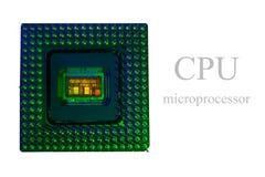 CPU dentro Fotografia Stock Libera da Diritti