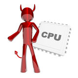 CPU Devil Stock Photos