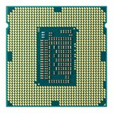 CPU Downside. Close up CPU isolated on white Stock Photos