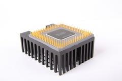 Cpu en radiator Royalty-vrije Stock Foto's