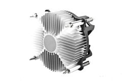 CPU fan Royalty Free Stock Image