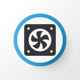Cpu Fan Icon Symbol. Premium Quality  Computer Ventilation Element In Trendy Style. Premium Quality  Computer Ventilation Element In Trendy Style.  Cpu Fan Icon Stock Images