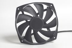 CPU fan processor cooler detail Stock Images