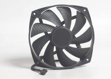 CPU fan processor cooler detail Stock Photo