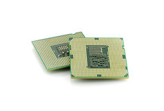CPU is heart important computer Royalty Free Stock Images