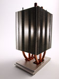 CPU Heat Sink front view Royalty Free Stock Images