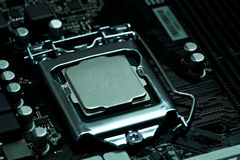 Free CPU Installed On A Motherboard Royalty Free Stock Images - 91460619