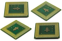 CPU isolated royalty free stock image