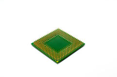 CPU isolated on a white background Stock Photos