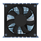 CPU-Kühler Stockbild