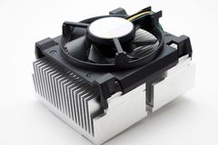 CPU-kylfläns Royaltyfri Fotografi