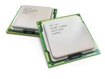 CPU. Les processeurs de l'ordinateur Photo libre de droits