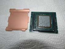 CPU lidded del De Intel Skylake immagini stock