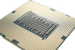 CPU macro Royalty Free Stock Photo
