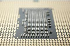 CPU macro Stock Photo