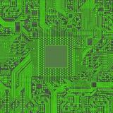 CPU-mikroprocessormikrochips Royaltyfri Foto