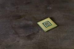 CPU mit Stiften oben lizenzfreies stockbild