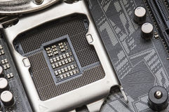 CPU motherboard socket Stock Photography
