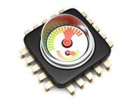 CPU performance concept Stock Photo