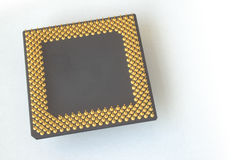 CPU pins Stock Photo