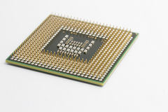 Cpu processor chip Stock Image