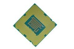 CPU-processor för skrivbord, bärbar dator, smartphone och minnestavla arkivfoto