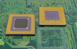 Cpu processors Stock Photography
