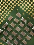CPU proche d'ordinateur vers le haut de xtreme Image libre de droits