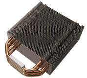 CPU radiator Royalty Free Stock Photos