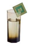 CPU refroidie à l'eau Photo libre de droits