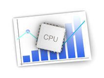 CPU Review Royalty Free Stock Photos