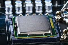 CPU socket Stock Images