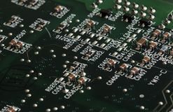 CPU socket Royalty Free Stock Photography