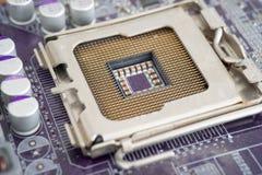 CPU Socket Royalty Free Stock Photos