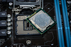 CPU socket Royalty Free Stock Image
