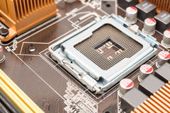 CPU Socket On Motherboard Stock Images