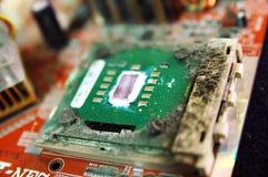 CPU sucia Imagenes de archivo