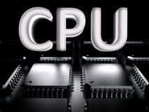 CPU - Zentraleinheit (mehradrig) lizenzfreie abbildung