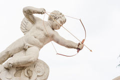 Cpuid. The son of Venus and the MAS, people think of him for the youth of Adonis. He commonly used weapon is the Golden bow, he shot arrows from the unbiased Stock Photography