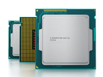 CPUs  Royalty Free Stock Photos