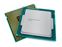 CPUs  Royalty Free Stock Images
