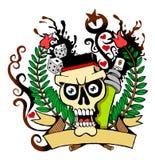 Cráneo 01 Imagen de archivo libre de regalías