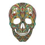 Cráneo adornado Imágenes de archivo libres de regalías