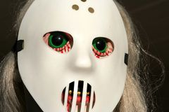 Cráneo asustadizo Fotos de archivo libres de regalías