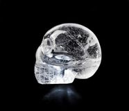 Cráneo cristalino Fotografía de archivo
