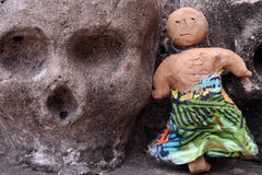 Cráneo de la cultura. Imagen de archivo libre de regalías