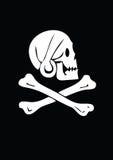 Cráneo de la muerte Foto de archivo libre de regalías