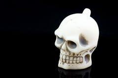 Cráneo de Víspera de Todos los Santos Fotos de archivo libres de regalías