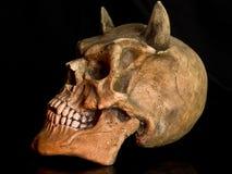 Cráneo de Víspera de Todos los Santos Foto de archivo libre de regalías